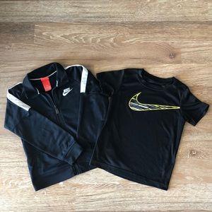 Boys Nike workout duo
